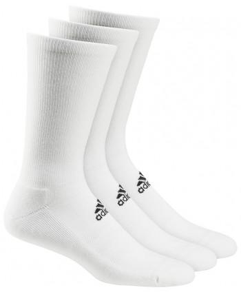 Pánské golfové ponožky Adidas Crew (3 páry)