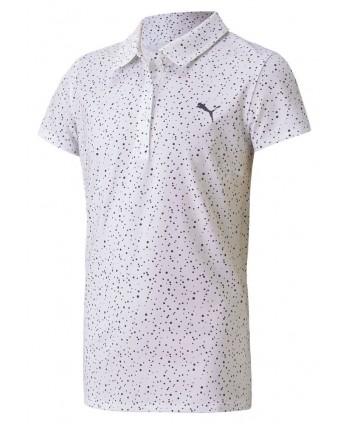 Dívčí golfové triko Puma Cloudspun Polka