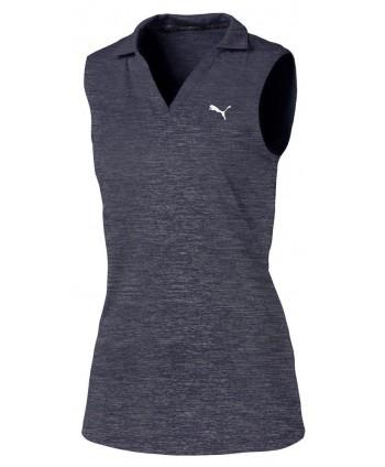 Dívčí golfové triko Puma Heather