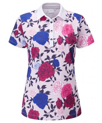 Dámské golfové triko Ping Rose Garden