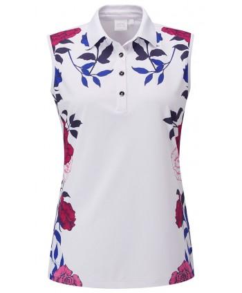 Dámské golfové triko Ping Rose Garden Sleeveless