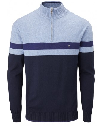Pánský golfový svetr Oscar Jacobson Windsor Pin Knit
