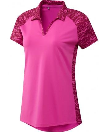Dámské golfové triko Adidas Ultimate 365 Printed