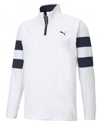 Puma Mens Torreyana Quarter Zip Pullover Top