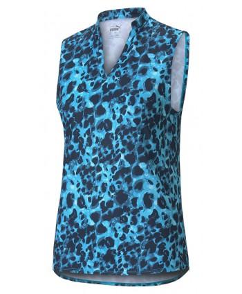 Puma Ladies Cloudspun Wilder Sleeveless Polo Shirt