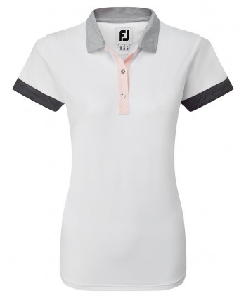FootJoy Ladies Blocked Pique Polo Shirt