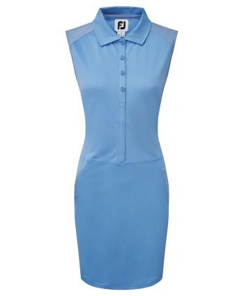 Dámské golfové šaty FootJoy Cap Sleeve Pique