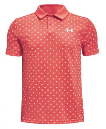 Detské golfové tričko Under Armour Textured Performance