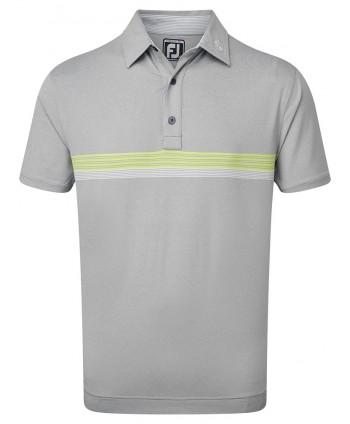 Pánské golfové triko FootJoy Lisle Engineered Chestband