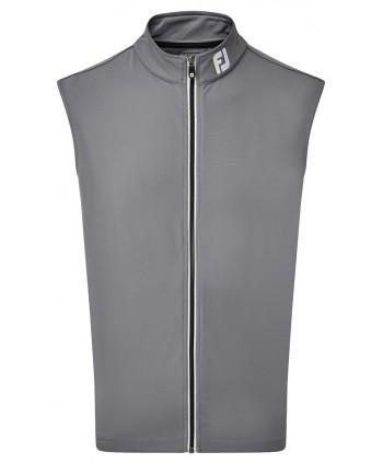 Pánská golfová vesta FootJoy Full Zip Knit