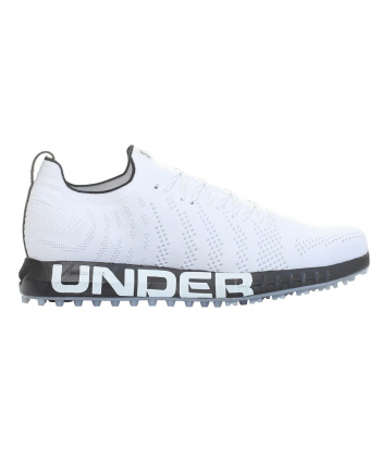 Under Armour Mens HOVR Knit Lace Up Spikeless Golf Shoes