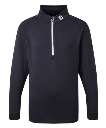 FootJoy Junior Jersey Chest Stripe Chill-Out Pullover