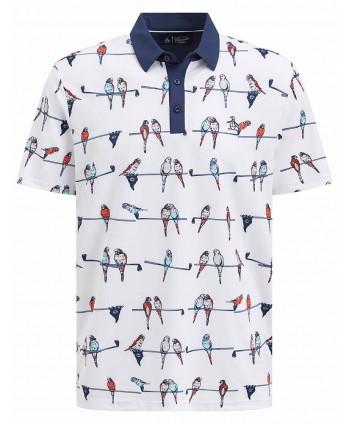Original Penguin Mens Bird on a Wire Polo Shirt