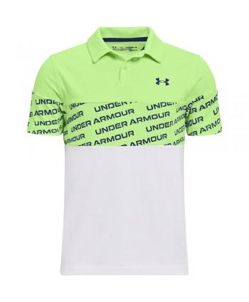 Under Armour Boys Performance Wordmark Polo Shirt