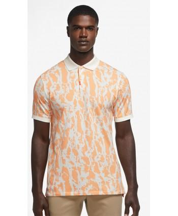 Nike Mens The Nike Polo Bark Slim Fit Polo Shirt
