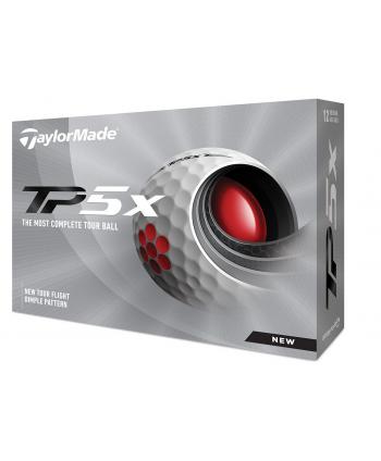 Golfové míčky TaylorMade TP5x (12 ks)