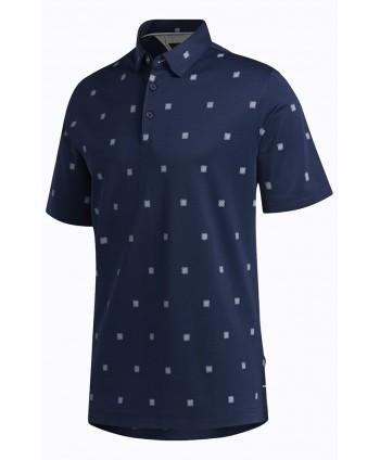 Pánské golfové triko Adidas Adipure Etched Print