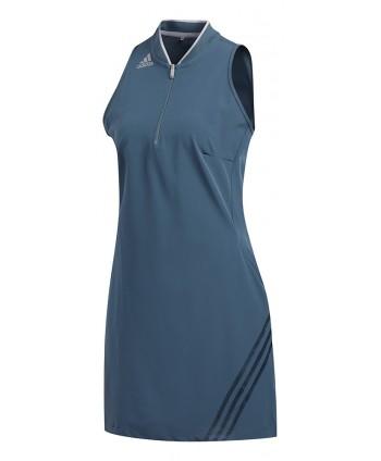adidas Ladies 3 Stripe Sleeveless Dress