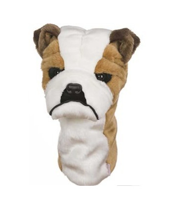 Headcover na driver s motívem Bulldoga
