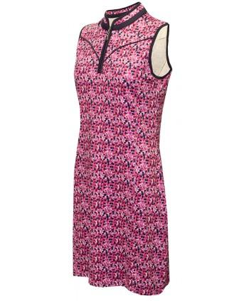 Dámské golfové šaty Green Lamb Emer Print