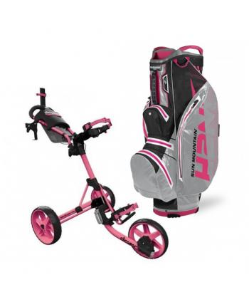 Golfový bag Callaway + golfový vozík Clicgear 3.5+