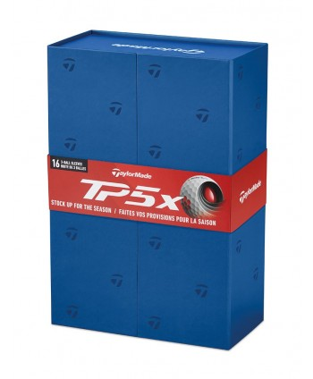 TaylorMade TP5 X Non-Personalised Golf Balls (Gift Pack)...