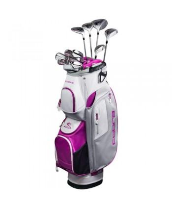 Cobra Ladies XL Speed 11 Piece Golf Package Set (Graphite...