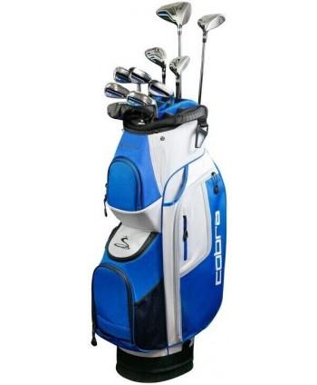 Cobra XL Speed 11 Piece Golf Package Set (Steel/Graphite)