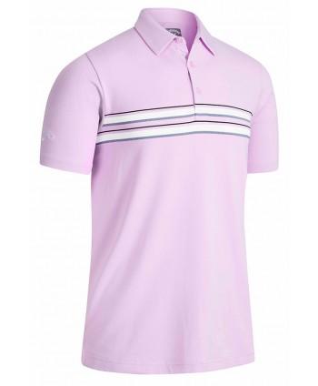 Pánské golfové triko Callaway Jaspe Chest Stripe