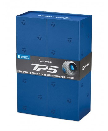 TaylorMade TP5 Non-Personalised Golf Balls (Gift Pack) -...