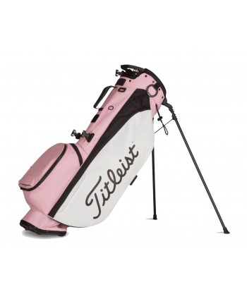 Titleist Ladies Camo Players 4 Pink Out Stand Bag -...