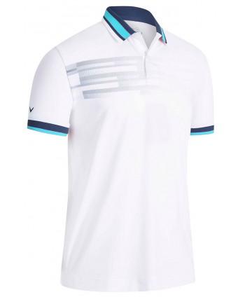 Pánské golfové triko Callaway Printed Stripe