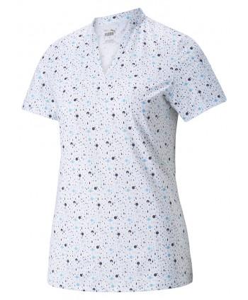 Dámské golfové triko Puma MATTR Dispersion