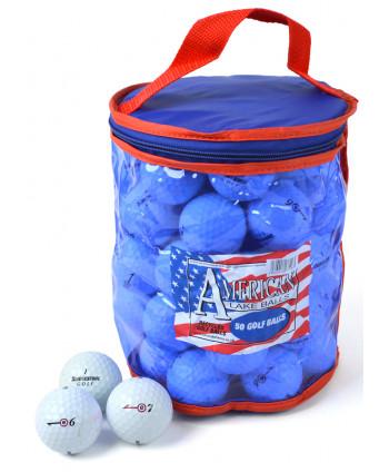 Mix hraných golfových míčků Bridgestone (50 ks)
