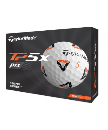 TaylorMade TP5x Pix Golf Balls (12 Balls)