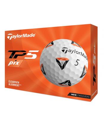 Golfové míčky TaylorMade TP5 Pix 3.0 (12 ks)