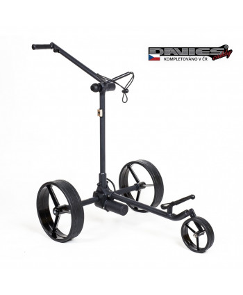 Davies Caddy PREMIUM Travel Electric Trolley with Lithium...