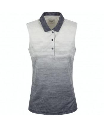 Puma Ladies Ombre Sleeveless Polo Shirt