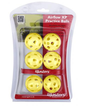 Tréninkové míčky Masters Airflow XP (6ks)
