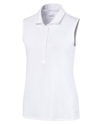 Puma Ladies Rotation Sleeveless Polo Shirt