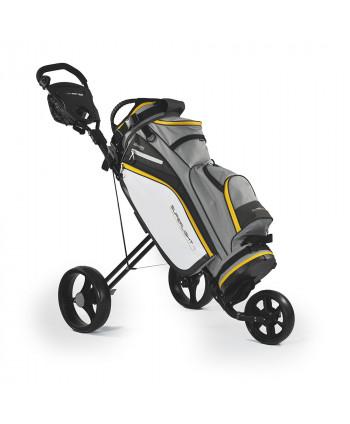 Golfový bag Masters Superlight 9 + vozík Masters 5 Series
